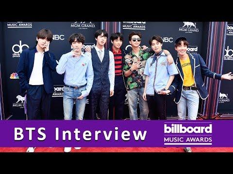 BTS TALKS MUSIC & NEW SONG | BILLBOARD MUSIC AWARDS