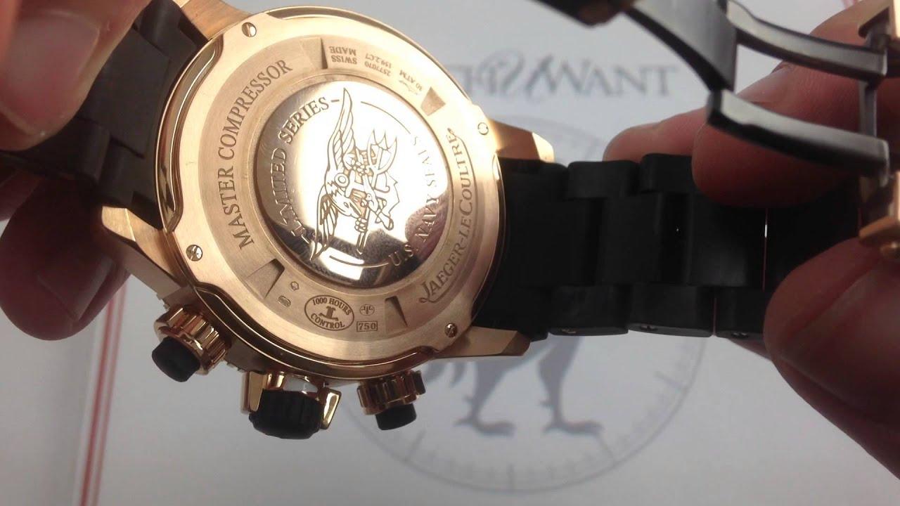 Jaeger-LeCoultre Master Compressor Diving Chronograph GMT ...
