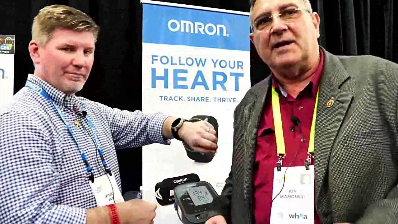 CES 2018: Jon meets Omron
