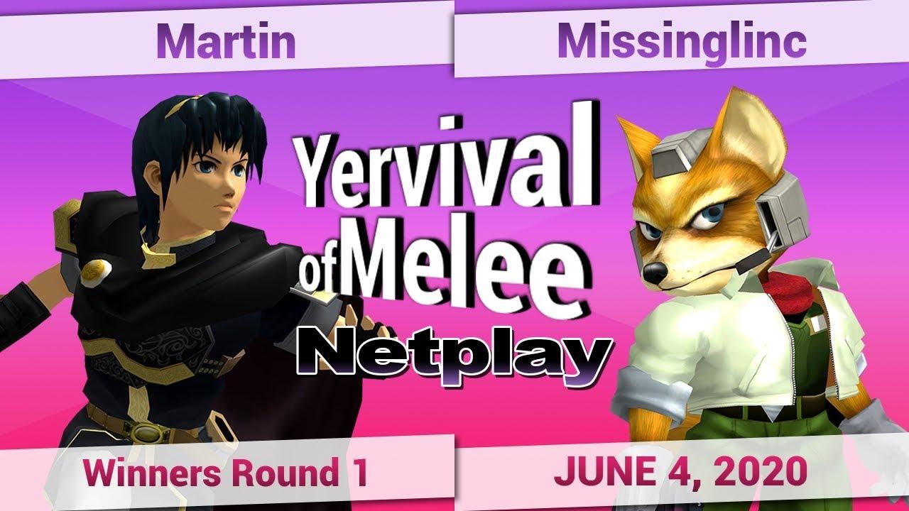 Download Martin (Marth) vs. Missinglinc (Fox) - Winners Round 1 - Yervival of Melee #11 #BLM