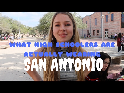 What High Schoolers Are Actually Wearing: San Antonio