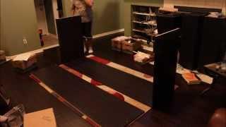 Ikea Pax Wardrobe Build Time Lapse #2