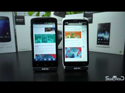 LG Optimus True HD LTE vs HTC One X browser comparison