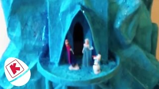 How To Make Elsa's Castle From Frozen Movie - Princesses In Real Life | WildBrain Kiddyzuzaa
