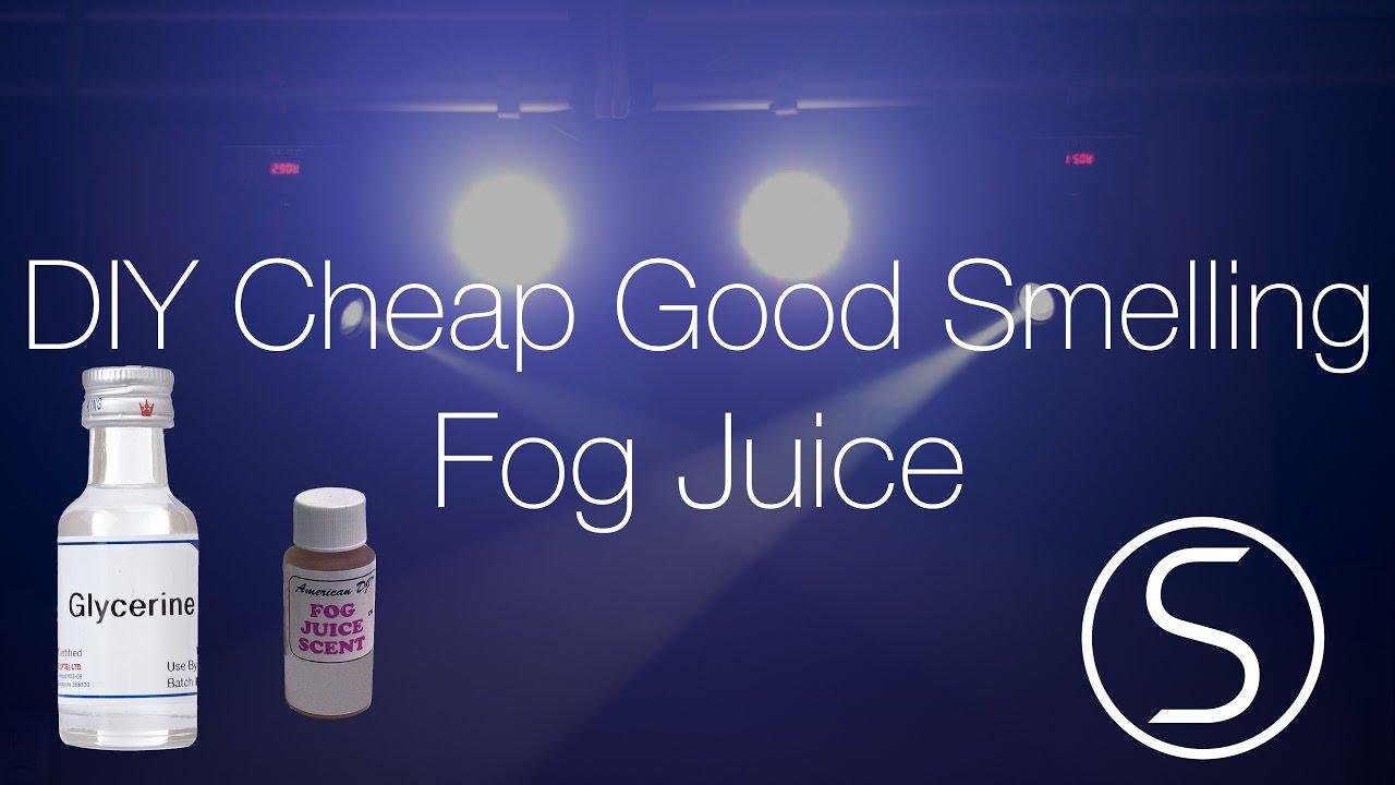 Diy Cheap Good Smelling Fog Juice Simillion Youtube