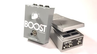 Using the Boss FV30H as an Expression Pedal