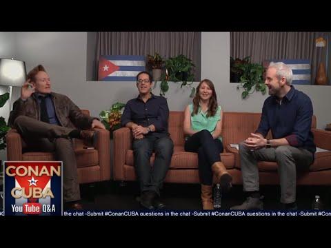 Conan Live YouTube Q&A: Conan In Cuba