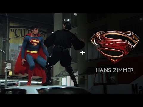 Superman II - Metropolis battle [Man of Steel style with Hans Zimmer's score]