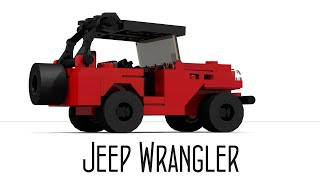 How To Build An Expedition Jeep Wrangler (small Lego Toy)