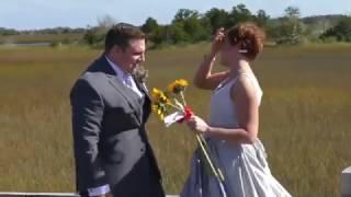 Невеста на свадьбе разыграла мужа