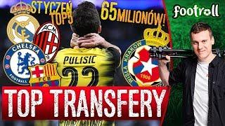 TOP transfery 1-10 stycznia | nowy Kaka, drogi Pulisić i... niespodzianka!