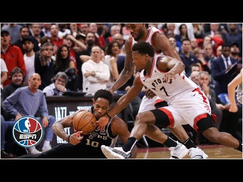 DeMar DeRozan loses return to Toronto, Kawhi Leonard surges Raptors to win | NBA Highlights