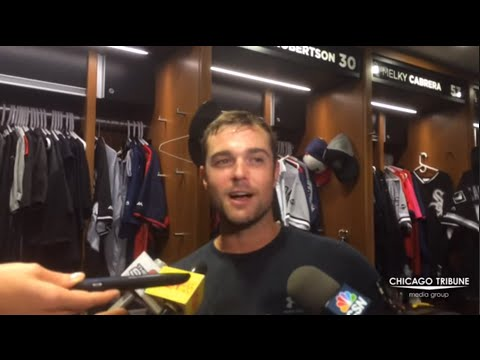 White Sox's David Robertson on Fans Running Onto Field During Game