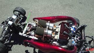 OBR TWIN 57cc 100mph speed run