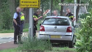 Fietser gewond na botsing tegen auto in Dalfsen