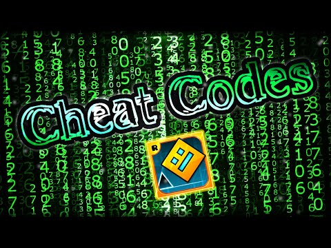 If Cheat Codes were in Geometry Dash