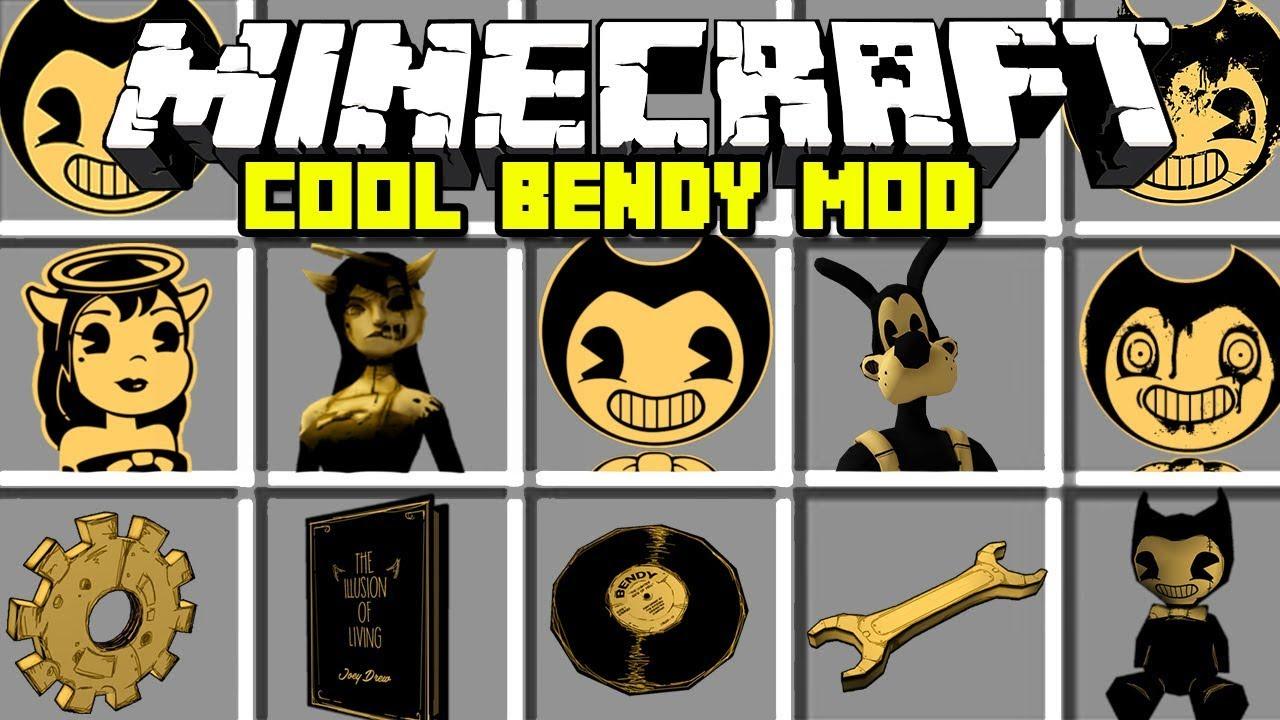 Minecraft And Machine Bendy Mod Ink