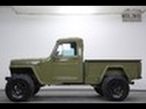 Willys Jeep Truck >> 1948 Jeep Willy's Pickup - YouTube