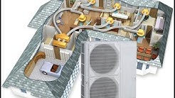 Introduction to fully ducted heat pumps for all electric heating and cooling