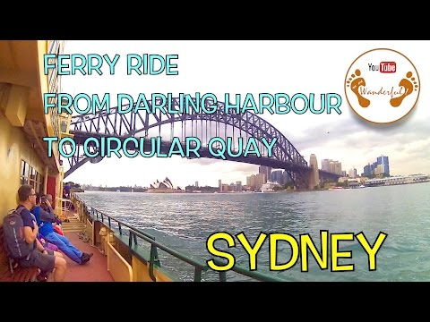 Wanderful: Ferry Ride from Darling Harbour to Circular Quay | Sydney, New South Wales | Australia