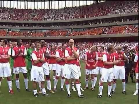 Dennis Bergkamp's Testimonial : Arsenal Vs Ajax 22-07-06 Post-Match