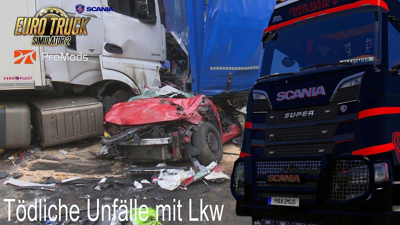ETS2 I New Scania S730 ★ Tödliche Unfälle mit Lkw ★ #655 Themen-Tour [Deutsch/HD]