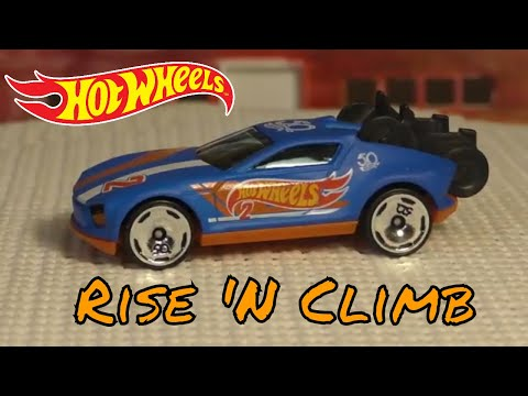 2018 Hot Wheels K Case #233 - Rise 'N Climb - New Model