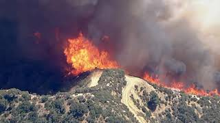 Massive Apple Fire burns out of control in Riverside County I ABC7