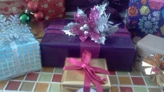 Repeat youtube video Tips para envolver regalos ( parte 1)