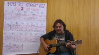 Fingerstyle Guitar Lesson #105: WHEN THE CHILDREN CRY (PART 2 / Vers & Chorus)