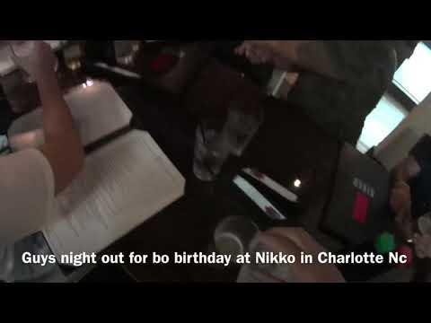Bo Birthday Dinner At Nikko In Charlotte Nc