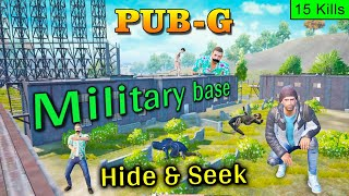 PUBG Hide and Seek in Military Base | PUBG Mobile Funny Gameplay | Bollywood Gaming