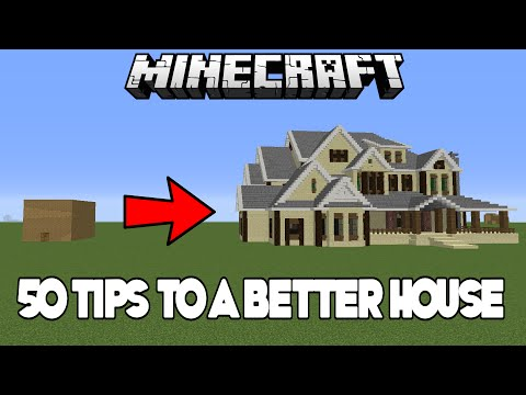 50 Easy Tips & Tricks To Improve Your House In Minecraft (Xbox/PC)