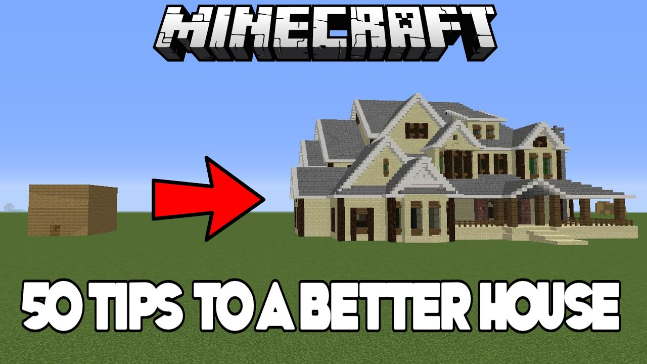 50 easy tips & tricks to improve your house in minecraft (xbox/pc