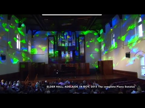Scriabin- The Ten Piano Sonatas with projected Opal Imagery