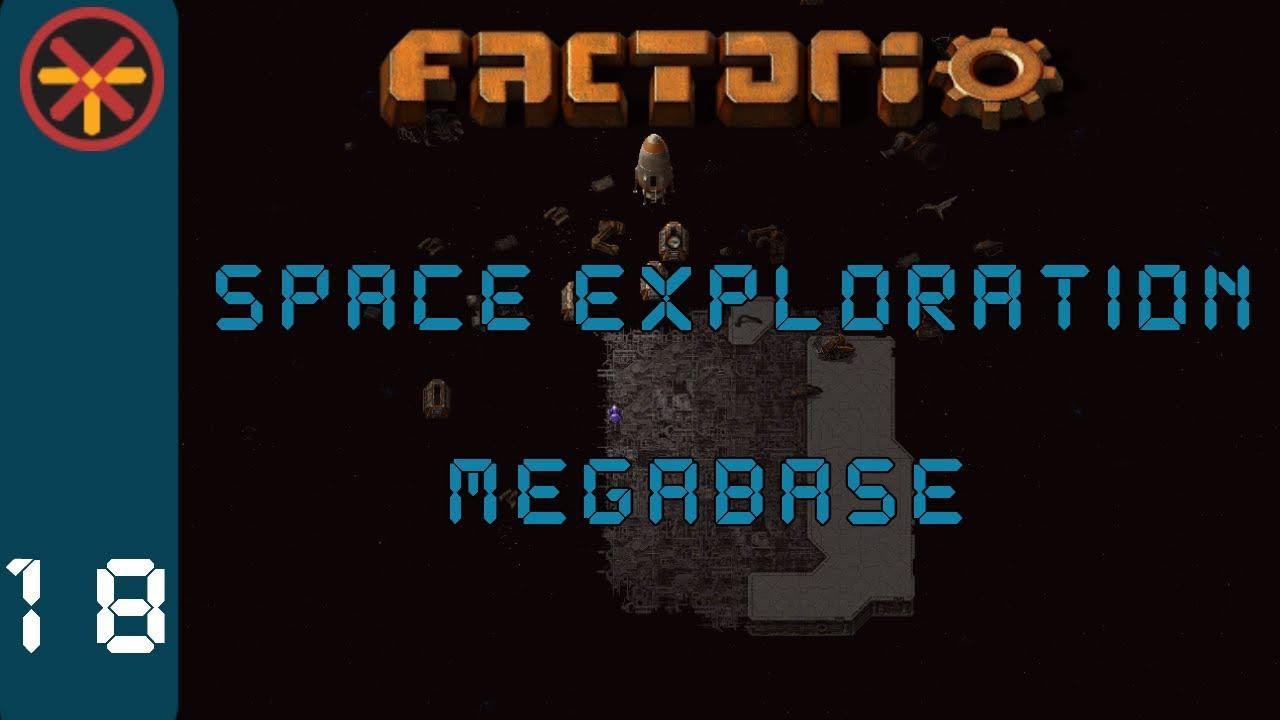 Factorio Space Exploration Grid Megabase EP18 - Asteroid