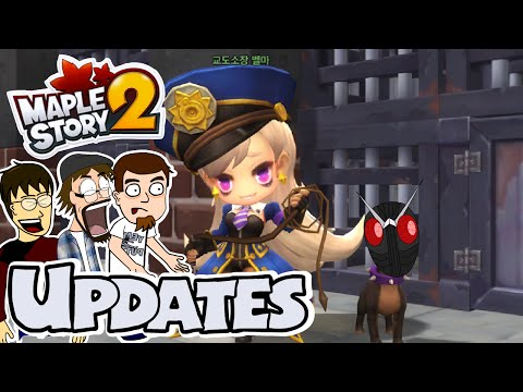 MapleStory 2 Discussion! Pre Final Updates 3! Economy, Shadow World, Velma's Judgement and More!