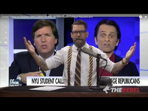 """Tucker Porn"": Fox's Carlson destroys anti-Gavin ""student"""