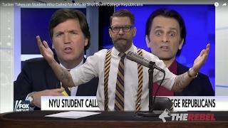 """Tucker Porn"": Fox's Carlson destroys anti-Gavin ""student"""