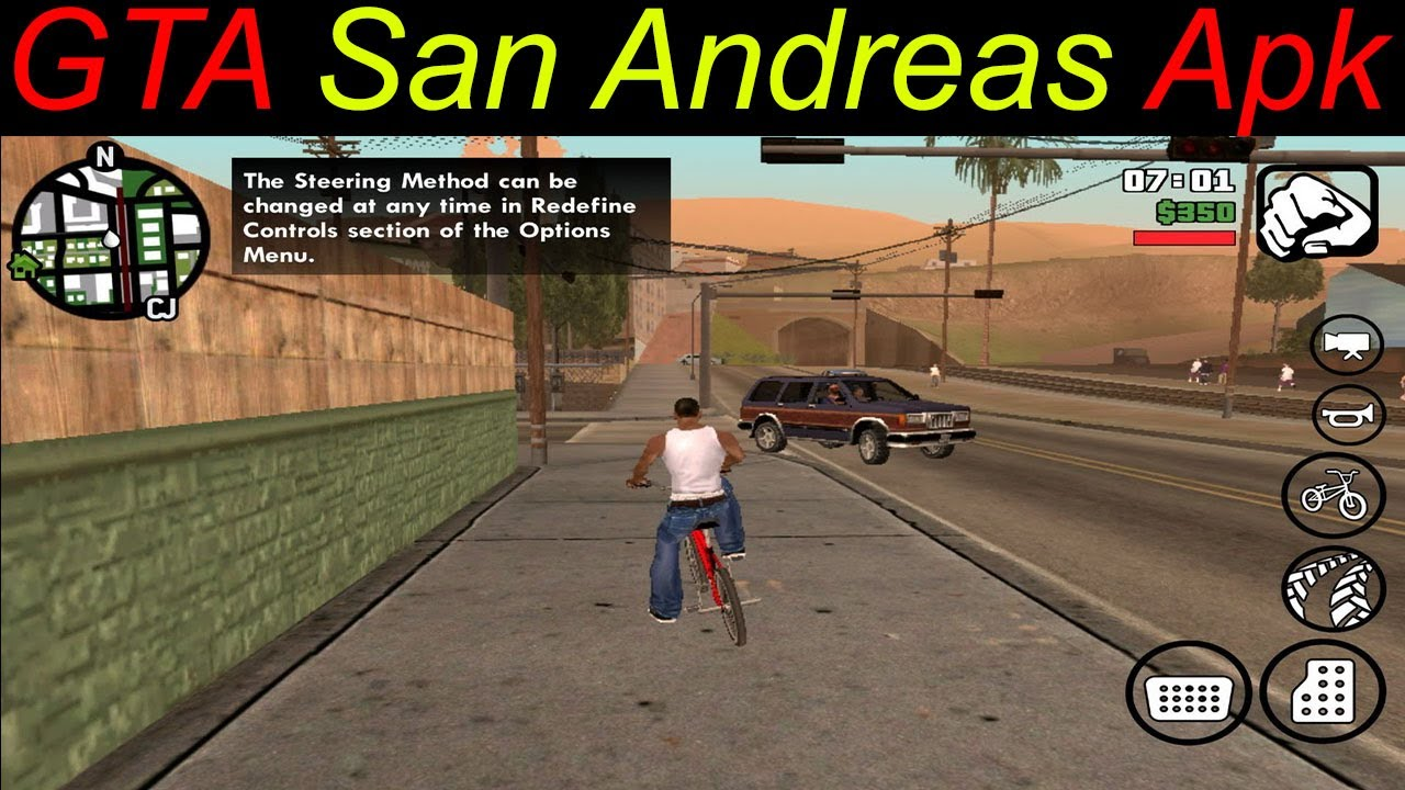 download gta san andreas android apk mod