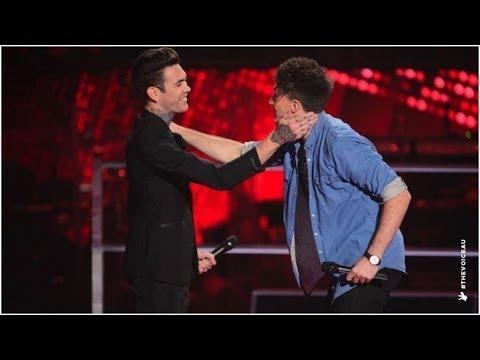 Matthew Garwood Vs Peter White: Eleanor Rigby | The Voice Australia 2014
