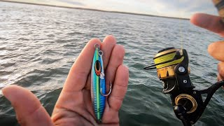 First Time Fishing With Slow Pitch Jigs...Interesting Stuff