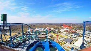 Speed Water Coaster Premier Test POV Energylandia Amusement Park Poland