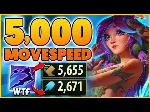 LILLIAS NEW ABILITY BREAKS THE GAME.. 5,000+ MOVESPEED!!!! - BunnyFuFuu   League of Legends