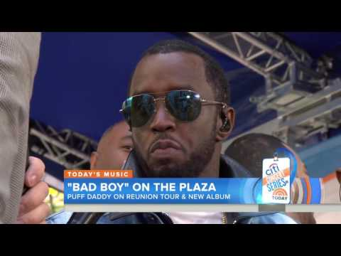 "Puff Daddy & The Family Reunion On ""The Today Show"" (21st May 2016)"