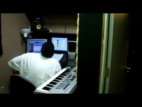 AGERMAN ANT BANKS studio session JULY 2 2009 worllwidemusic BAY AREA  3 x krazy