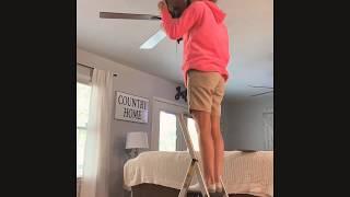 *DIY* Ceiling Fan Makeover