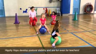 Preschool Physical Education activities at ISM 2014