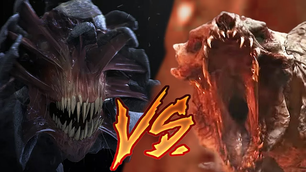 White Spikes VS Quiet Place Monster   Battle Arena   The Tomorrow War   A Quiet Place   DanCo VS