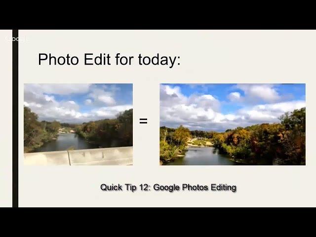 Google Photos Editing Quick tip #489